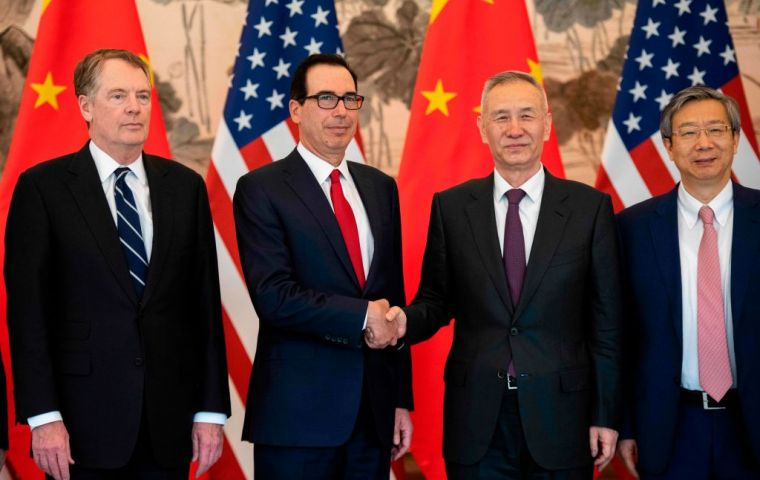 Talks have dragged on for months, with both sides struggling to agree on key issues. The trade war has hurt the economy and challenged the multilateral system
