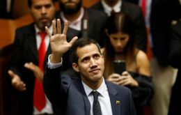"""We are keeping up diplomatic pressure to support the mobilization of Juan Guaido, with great expectations for May 1,"" Foreign Minister Ernesto Araujo said"