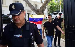 Spain's government has confirmed that Lopez is in the Spanish Embassy in Caracas.