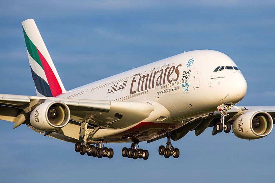 Emirates code-share partnership with LATAM Brazil on 17 Brazilian