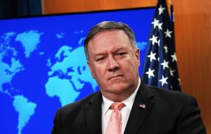 The president dismissed a claim by US Secretary of State Mike Pompeo that he had been ready to flee the country, and accused the US of directing an attempted coup.