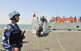 Beijing currently has just one overseas military base, in Djibouti, but is believed to be planning others, possibly Pakistan, as it seeks to become a global superpower