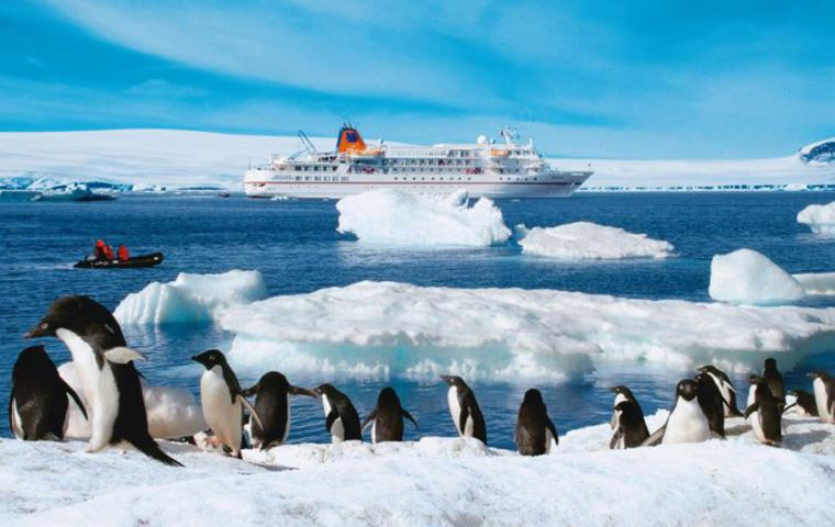 """Visiting Antarctica is a privilege and we all have a responsibility to keep it pristine"", said IAATO's Lisa Kelly"