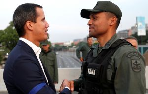 Guaido on Monday blamed the failure on un kept promises by other members of the armed forces.