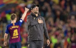 Klopp saluted his spirited players for refusing to accept they were out after losing the first leg by such a large margin.