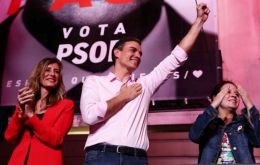 "Prime Minister Pedro Sánchez following victory: ""The future has won and the past has lost"""