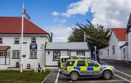 Police received a call from someone who had discovered something suspicious on the road beyond Stanley airport, heading to the Cape Pembroke lighthouse (Pic Wikimedia)