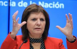 Security Minister Patricia Bullrich said on Friday that all members of the gang had been detained, including one who had fled across the border to Uruguay