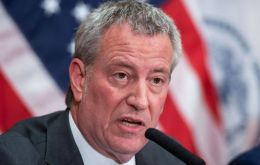 De Blasio who succeeded billionaire Michael Bloomberg on the promise of reducing the city's glaring inequalities has defended his own progressive record