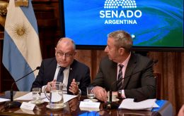 """There are no grounds to sustain that Argentina is discussing the handing over of its natural resources"", insisted minister Faurie"
