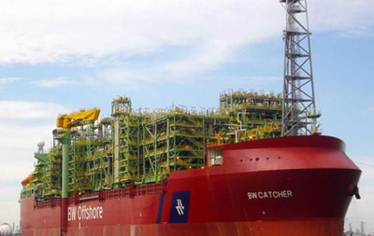 Premier's output has been buoyed in the past year by its flagship Catcher field in the British North Sea, where it expects to approve an expansion project