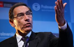"""Between the two of us (Peru and Bolivia) we need a third partner to help turn (the railway into reality),"" president Vizcarra said"