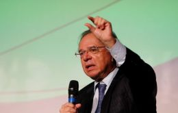 "The bleak outlook was underscored by economy minister Paulo Guedes, who warned this week that Brazil was ""at the bottom of the well"""