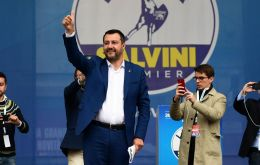 The anti-immigrant League party of Salvini, who is also deputy prime minister wants to push reform in Brussels, notably to loosen rules on national debt.