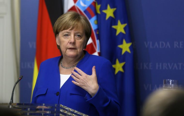Merkel made the remarks when asked about a scandal engulfing Austria's far-right Freedom Party, whose leader Heinz-Christian Strache quit on Saturday