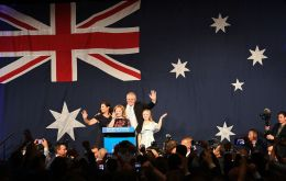 Australia has mandatory voting and a record 16.4 million voters enrolled for the election, which returns a new Lower House and just over half of Senate seats