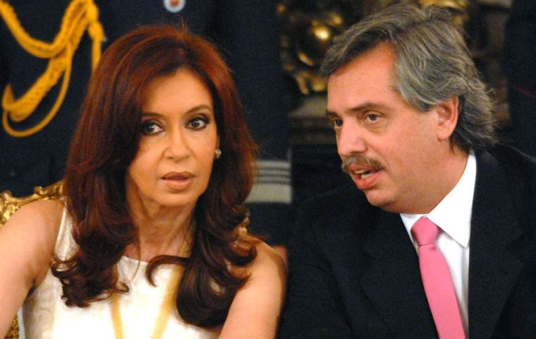 Cristina Fernandez announced that she had decided to name her former cabinet chief Alberto Fernandez, as head of her political grouping's presidential ticket