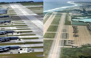 Diego Garcia became an important US base during the Iraq and Afghanistan conflicts, acting as a launch pad for long-range bombers