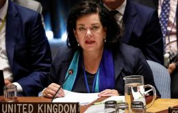 UK's ambassador to the UN, Karen Pierce, said she did not expect any change of position on the part of Argentina, a country with which London maintains good relations