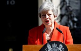 "May's resignation comes after a 10-point ""new Brexit deal"", announced in a speech on Tuesday"