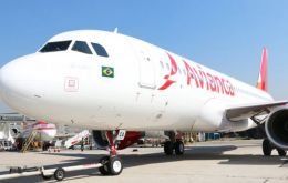 Avianca Brasil had accumulated a debt of around 123 million US dollars by December 2018.