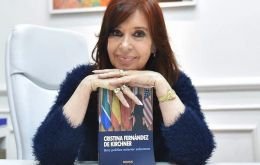 CFK's latest book has been reviewed to be heavily critical of current President Mauricio Macri's foreign policy.