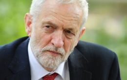 """With the Conservatives disintegrating and unable to govern, and parliament deadlocked, this issue will have to go back to the people"", Corbyn said"