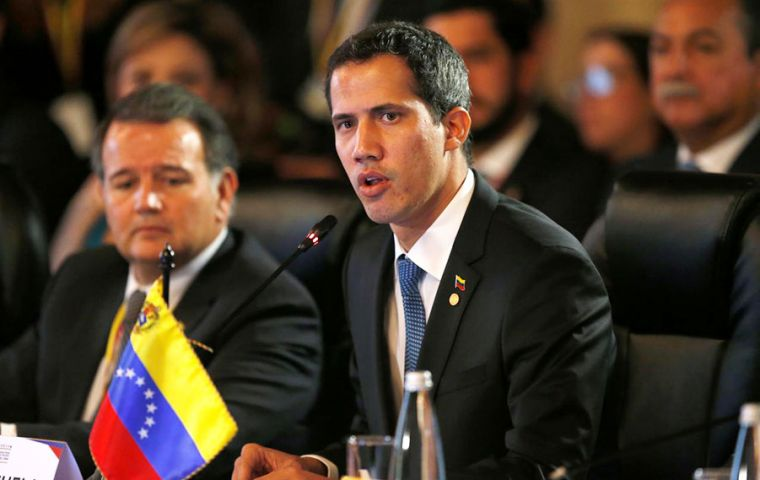 """This is not negotiation. This is not dialogue,"" Guaidó said at a rally. ""We are simply responding to an offer from the Norwegian government to mediate"""