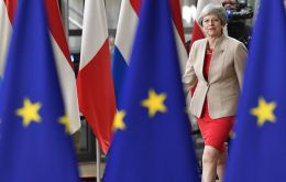 "May said that despite her announcement last Friday that she will quit, and Britain's impending exit from the bloc, she will play a ""constructive role"""
