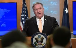 """These were efforts by the Iranians to raise the price of crude oil throughout the world,"" Pompeo told reporters shortly before leaving on a trip to Europe"
