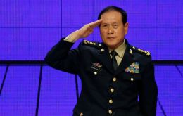 Wei is the first Chinese defense minister to attend the forum known as the Shangri-La Dialogue since 2011