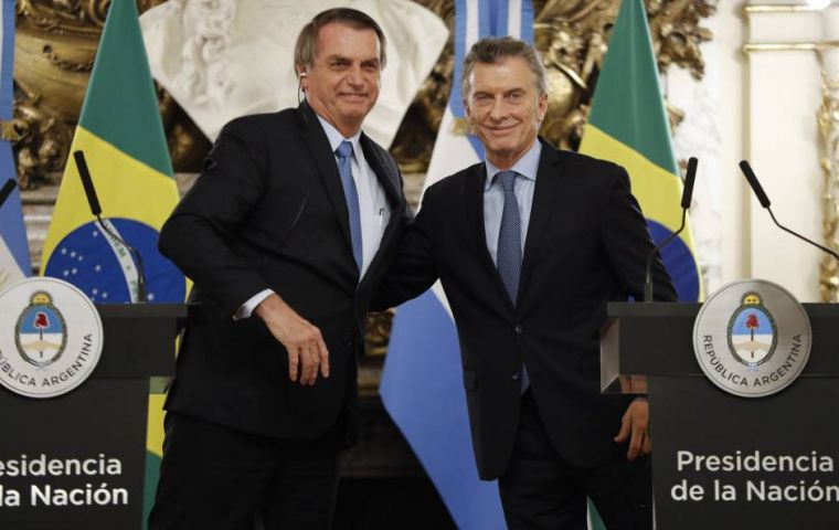 """The signing of the Mercosur-EU accord is imminent,"" said Bolsonaro, who has actively pushed for the free trade agreement since coming to office in January."