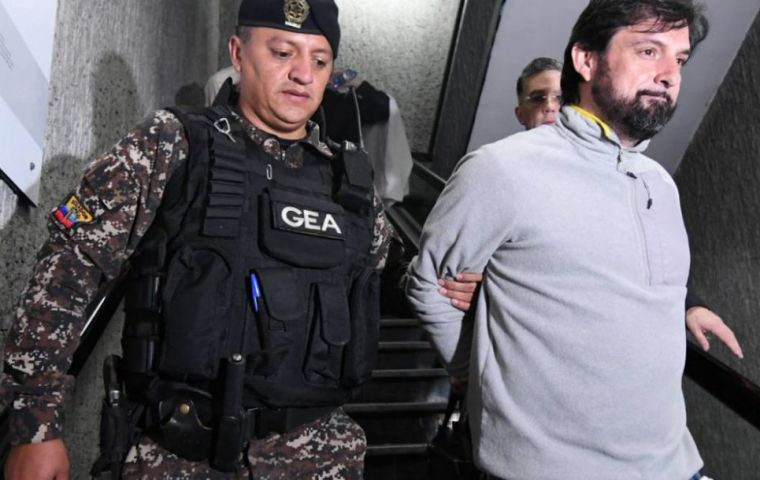President Moreno wrote in the June 4 document he was denying the extradition of Paul Ceglia, arrested in Ecuador for humanitarian and reciprocity reasons