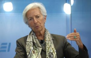 """A significant disruption to the financial landscape is likely to come from the big tech firms,"" Ms Lagarde said in Japan's south-western city of Fukuoka."