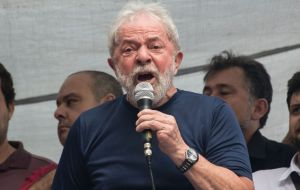 Dallagnol discussed ways to stop an interview that Lula, in prison since April 2018, had given to the newspaper Folha de Sao Paulo