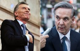Macri and Pichetto, could this be the winning ticket next October