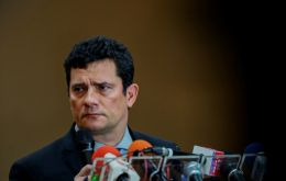 An editorial in the Estado de S.Paulo, the most conservative of Brazil's three largest newspapers, argued that Moro clearly needs to step down from his post.