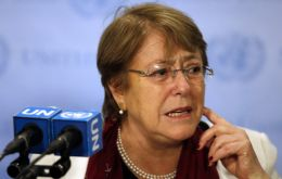 Bachelet will meet with Maduro, Guaidó, and with victims of human rights abuses and representatives of civil society.