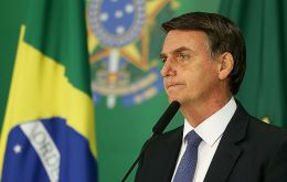 "Speaking to reporters on Friday, Bolsonaro said employers would ""think twice"" before hiring a gay person for fear they could be accused of homophobia."