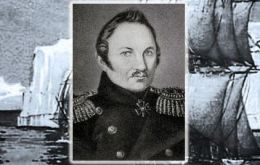 Von Bellingshausen was appointed commander of the southern polar expedition, which left the Russian naval base of Kronstadt in the Gulf of Finland, in July 1819.