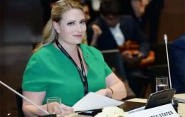 Emma Doyle, White House Principal Deputy Chief of Staff, led the US delegation at the 110th session of the executive council of the global body WTO in Baku