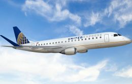 Including this new United contract, Embraer has sold more than 585 E-175s to airlines in North America since January of 2013.
