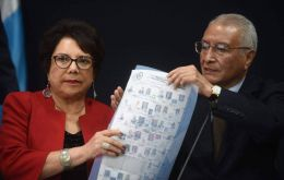 "Court president Julio Solórzano told journalists in Guatemala City that he had ordered a recount to ""clarify disagreements."""