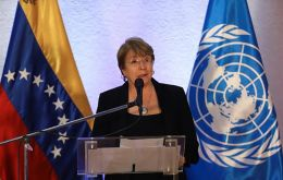 """It was deeply painful to hear the desire of the victims, of their families, to obtain justice in the face of serious human rights violations,"" said Bachelet"