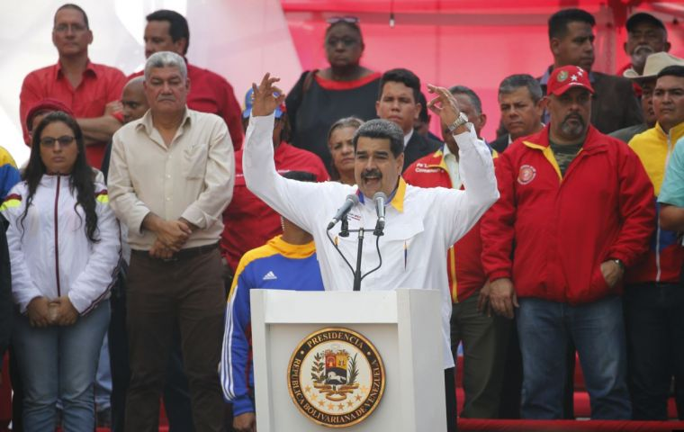 Christepher Figuera told the Post that members of Maduro's family and his government were engaged in money laundering and corruption