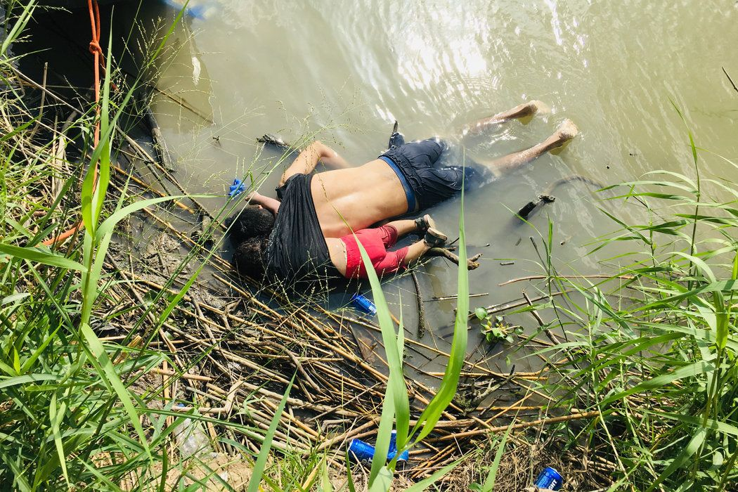 A photograph shocks world opinion and questions Trump's
