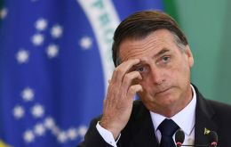 The number of respondents lacking confidence in Bolsonaro rose to 51% from 46% in a previous poll, pollster Ibope said in a survey