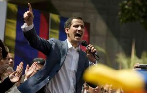 Guaido in January invoked the constitution to assume a rival interim presidency after rejecting Maduro's 2018 re-election as illegitimate