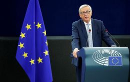 "EC president Jean-Claude Juncker underlined the historical moment, ""a strong message that with our Mercosur partners we stand for rules-based trade"