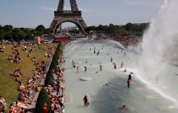 The new record makes France the seventh European country to have a plus 45-degree temperature: Bulgaria, Portugal, Italy, Spain, Greece and North Macedonia